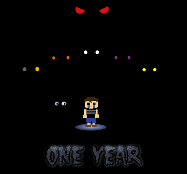 One Year of Nightmares by DeviManX