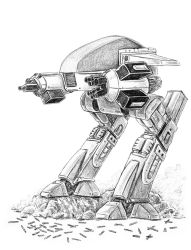 ED 209 (Mech Madness 18) by AndrewDeFelice