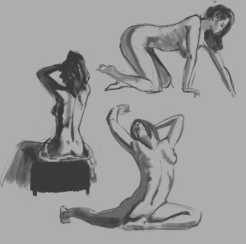 Life Drawing (10 Minutes) by George-Eracleous
