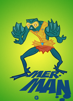 Masters of the Universe: Mer-Man (2009) by G-for-Galdelico