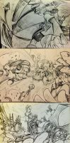 [Splatoon] Pencil drawing by ZozaZero