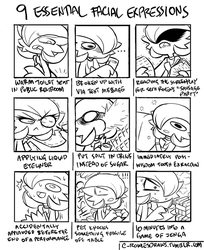 Expression Meme - Airalin by RakkuGuy