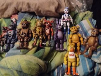 My FNaF Figures by stotlerb21