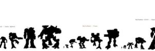 Size Comparison Chart Mecha by DirkLoechel