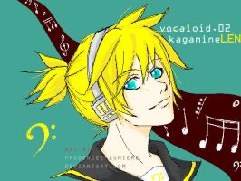 Vocaloid - Kagamine Len by prudencee-lumiere