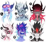 $13 monster adoptables CLOSED (USD PAYPAL) by PointShark
