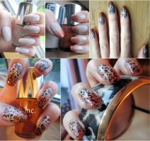 Gradient Leopard Print by soyoubeauty