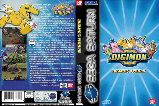 Digimon World (Sega Saturn EU) by Artzei