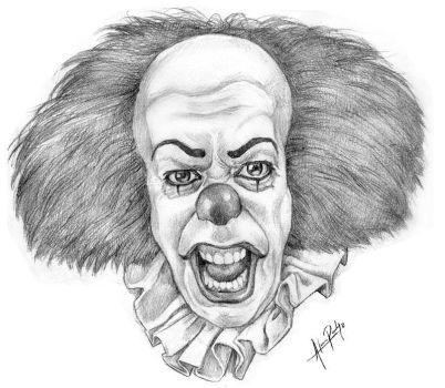 It the clown by AlanRodriguez