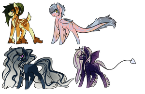Themed Pony Auctions (CLOSED) by cutevulpix56