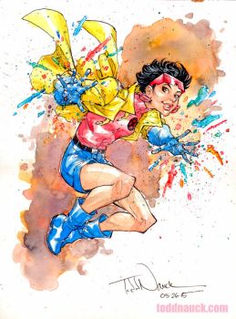 Jubilee watercolor by ToddNauck