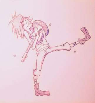 Noodle by lallibear