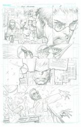 The Incredible Hulk - Issue 2 Page 8 PENCILS by MichaelBroussard