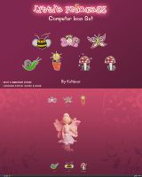 Little Princess Icon Set by KatiBear