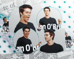 Dylan O'Brien - PNG pack by DeanaWattCuZbici