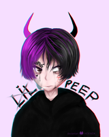 Lil Peep by AIDENIDK