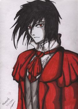 Hellsing: Young Alucard by StrawberryLoveAlways