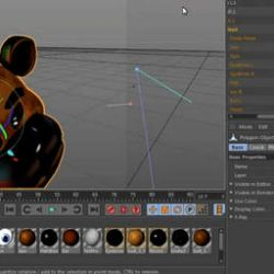 3dsmax Setting But In C4D R14 Its Animated by rendragading