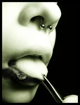With A Mouth For Disease by slit-the-soul