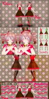 [MMD] ~Choco Series~ Raspberry Chocolate Teto [DL] by MMDTeto13