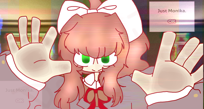 Just Monika. by DreamyTeamy