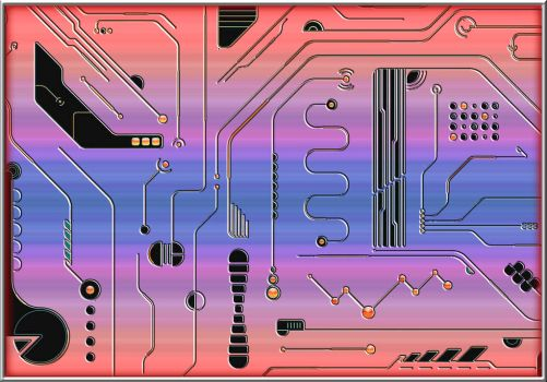 Circuit Board 6 1200 by mdichow