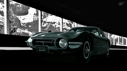 GT6 Toyota 2000 GTR HDR Tunnel by dominekkas