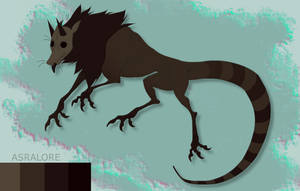 Creature adoptable CLOSED by Asralores-adoptables