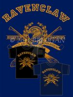 Ravenclaw Champions - Tee by Breogan
