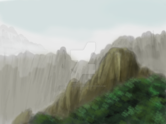 Mountain Landscape by S-ProductionGames
