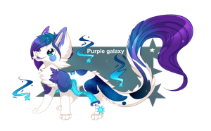 [CLOSED] Sloxou Raffle - Purple galaxy by Miru-Studios