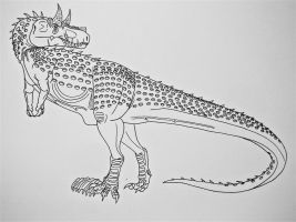 Carnotyrannus- The Hybrid from Hell by Saberrex