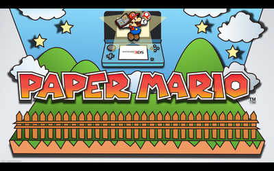 Paper Mario 3DS - Wall by BrentDennison