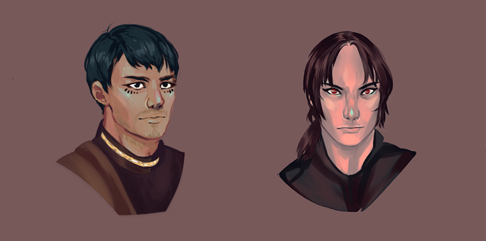 OCs Anthony and Konstantin by shrimparty