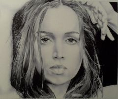 ballpoint pen portrait 2 by kc7655