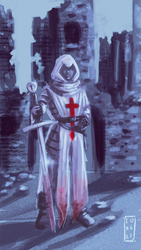 Templar knight  by Exile-062