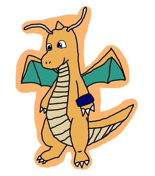 Danton the Dragonite by frootza
