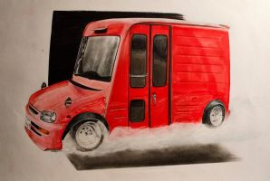 Daihatsu Mira Walkthrough van by xMadish