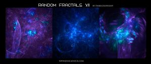 Random fractals XII by Starscoldnight by StarsColdNight