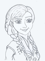 Anna sketch by denoodled