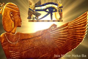 Golden Isis by Winged-Isis