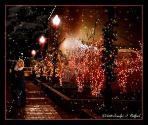 Its Christmas Time in the City by Jenna-Rose