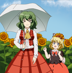 Touhou - Yuuka and Medecine  by Chantalwut