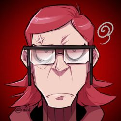 Commission: Maxie GRUMP icon by zillabean