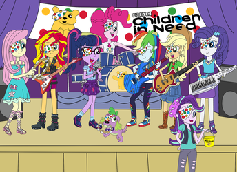 Children In Need 2017 Charity Concert by equestriaguy637