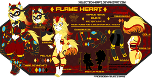 .: REF 2017 - Flame Heart - Bio needs update :. by xElected-Heartx