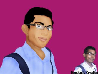 Me dg painting by roushank