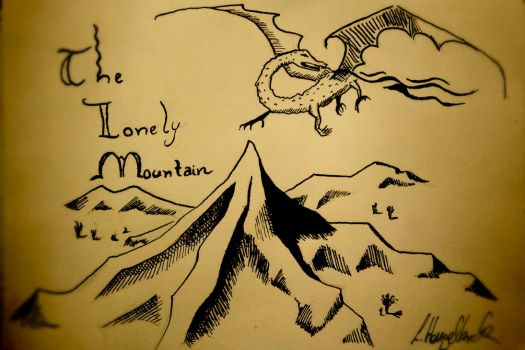 The Lonely Mountain by HarryKenobi