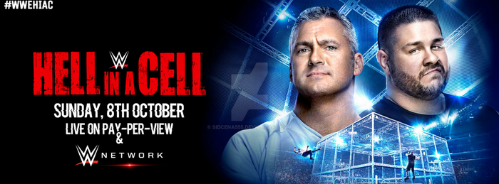 WWE Hell In A Cell 2017 Cover Photo by SidCena555
