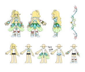 Elsword Costume Design Contest [RENA] by ShiyumiChan